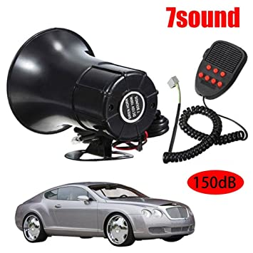 RUNGAO Alarma de advertencia de coche 150 dB 50 W con ...