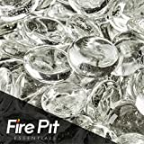 Glacier Ice Fire Glass Beads 1/2″ Firepit Glass Beads Premium 10 Pound Great for Fire Pit Fireglass or Fireplace Glass Review
