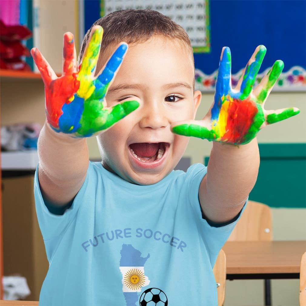 Custom Toddler T-Shirt Future Soccer Player Argentina Cotton Boy /& Girl Clothes