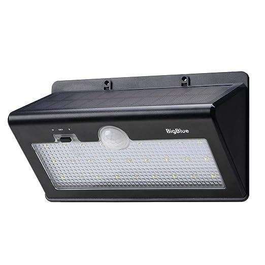 20 opinioni per BigBlue – Lampada Wireless ad Energia Solare 26 Lampadine LED da Esterno con