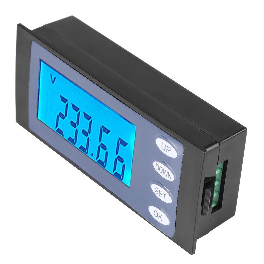 PEACEFAIR Voltager meter Digital AC 80-260V 100A Current Voltage Watt KWh Time Panel Meter Voltmeter + CT ,household voltmeter. by Hilitand (Image #7)