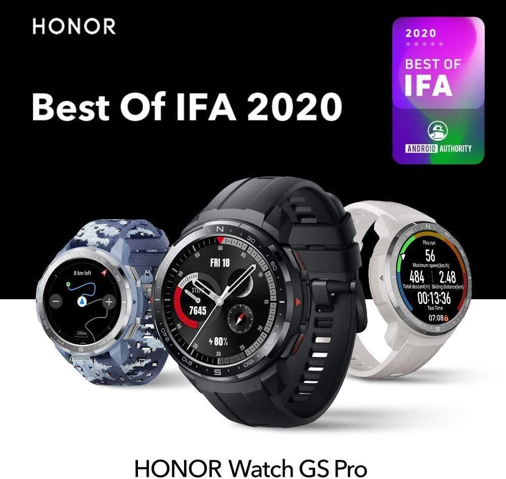 Smartwatch impermeable Honor GS Pro por 155€ con el #código: KTHZKRFF