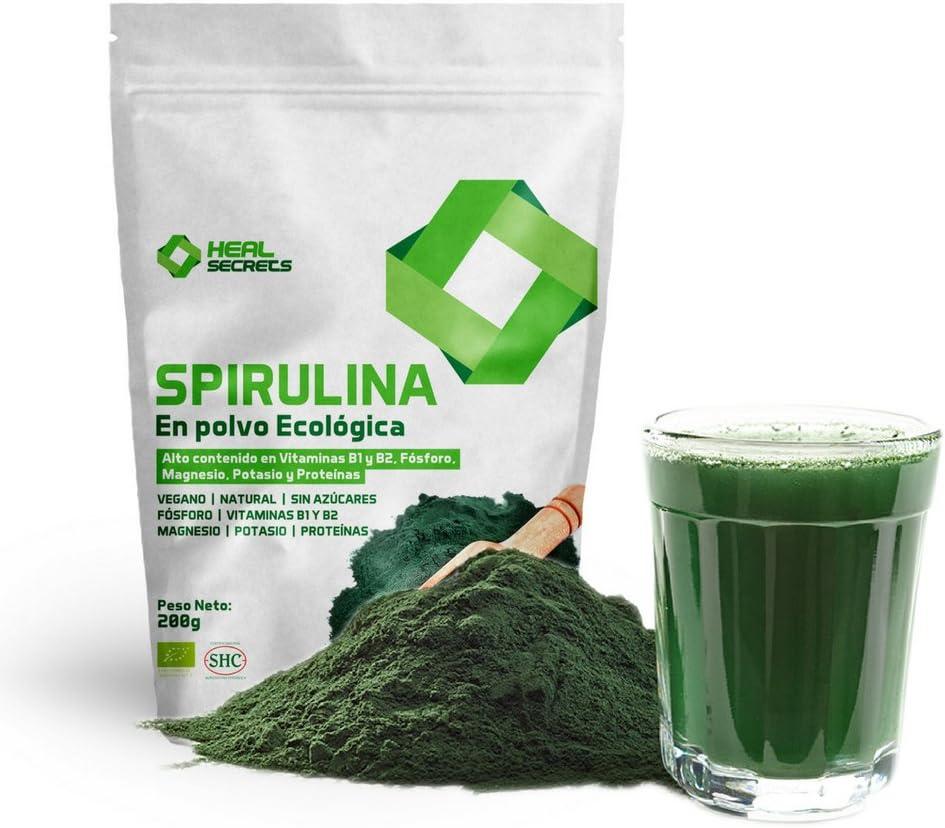 Espirulina Orgánica en Polvo, Spirulina Ecologica Apta Para ...
