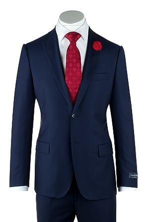fa22d912eebfc Zegna Traveller Cloth by Ermenegildo~Canaletto Superfine Slim Fit Suit~Model:  Porto 1880U