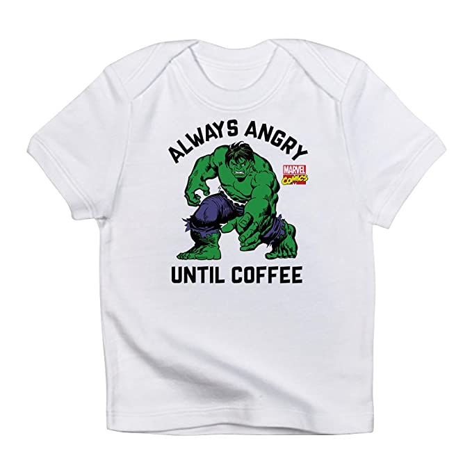 053eea4b CafePress Hulk Angry Coffee Infant T Shirt Cute Infant T-Shirt, 100% Cotton