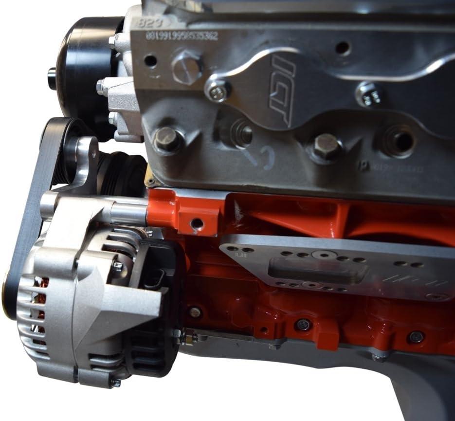 LS1 Camaro Billet Alternator Bracket Factory Style Low Mount LSX LS 667-2