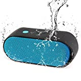 Waterproof Bluetooth Speaker - Portable Outdoor Bluetooth Speaker with Enhanced Bass IPX6 Shower Bluetooth Speaker Rainproof Wireless Bluetooth Speaker with 12 Hours / 300 Songs Play Time & 50FT Range