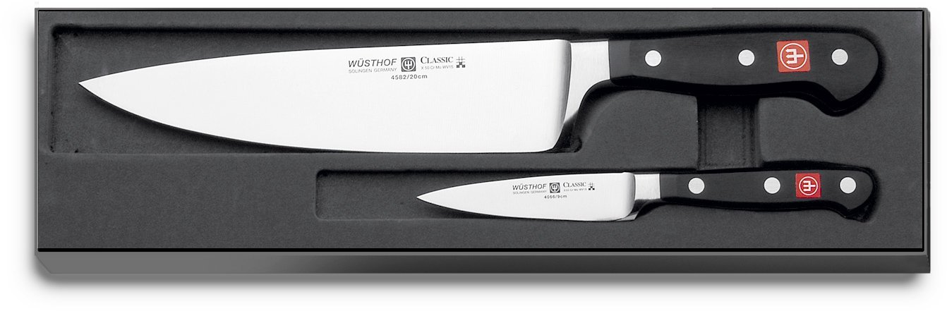 Wüsthof - Two Piece Starter Set - 3.5'' Pairing Knife and 8'' Cooks Knife (9755) by Wüsthof
