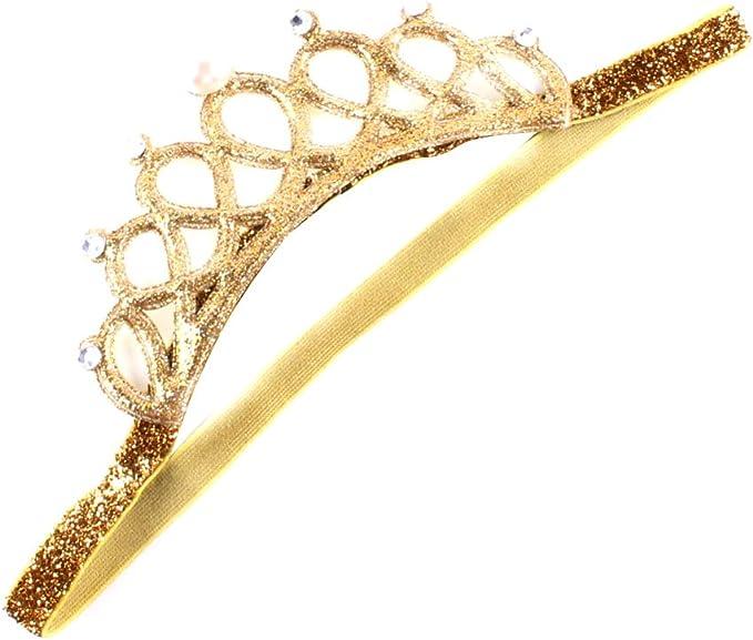 Amazon.com: Diadema de corona para bebé o niña, para ...