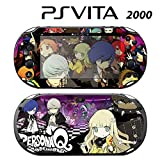 Decorative Video Game Skin Decal Cover Sticker for Sony PlayStation PS Vita Slim (PCH-2000) - Persona Q Shadow of Labyrinth
