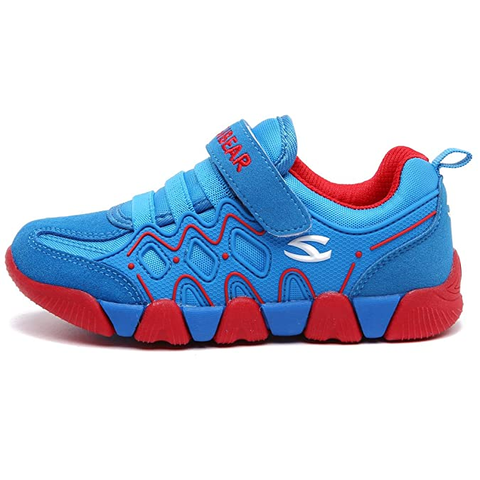 8ec274ed0813 Amazon.com | HOBIBEAR Kids Outdoor Sneakers Strap Athletic Running Shoes |  Athletic