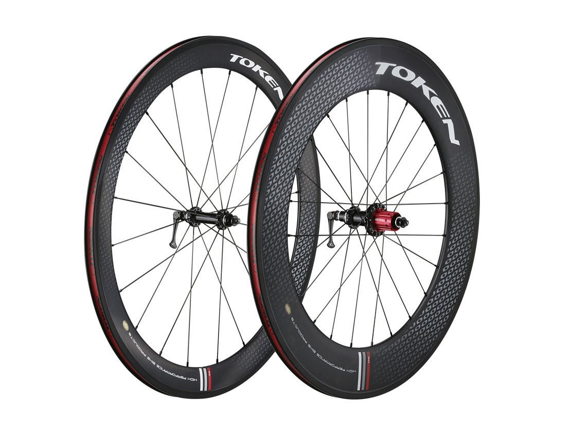 Token Products C590 Full Carbon Clincher Combo 50mm and 90mm Road Wheelset (Shimano/SRAM Cassette), Wheel Size : 700cm by Token (Image #1)