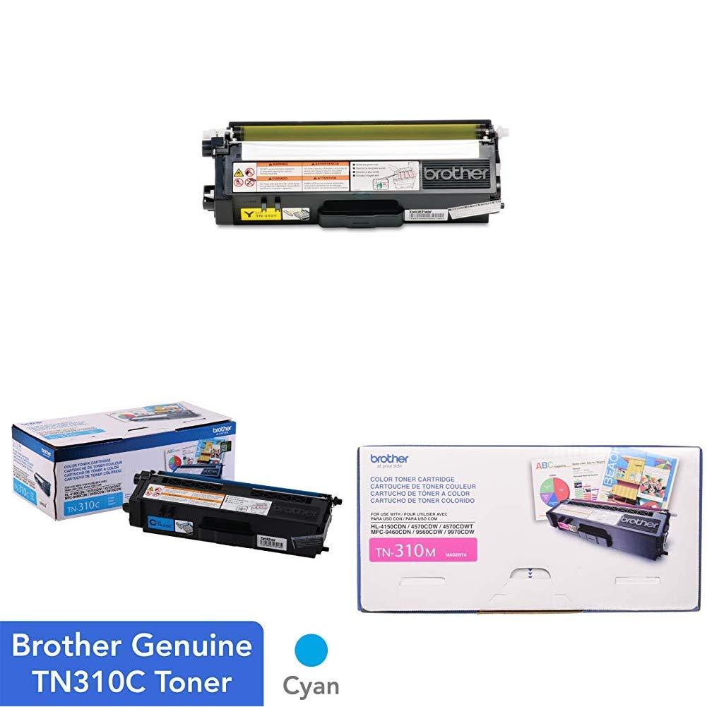Toner Original BROTHER Normal Capacidad Set - Cyan Magenta y Yellow Color (TN310C TN310M TN310Y)
