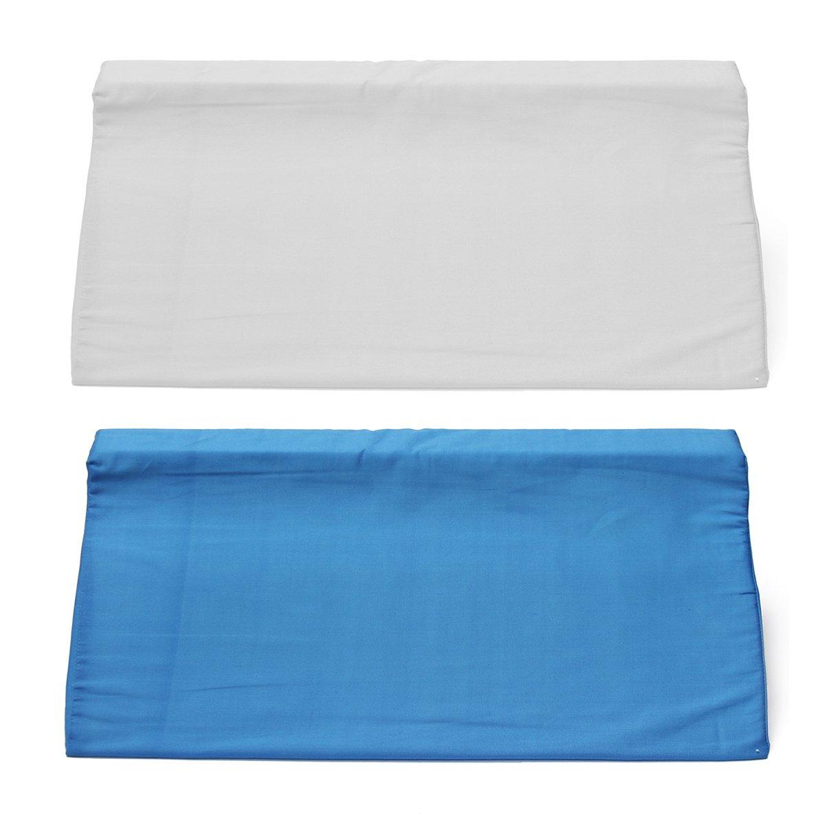 Azul EsportsMJJ /Ácido Reflujo Espuma Cama Cu/ña Almohada Pierna Elevaci/ón Respaldo Lumbar Cojines