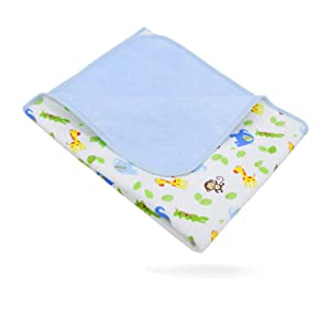 """Elf Star Cotton Bamboo Fiber Breathable Waterproof Underpads Mattress Pad Sheet Protector for Children or Adults, Neutral Color, 1 Pack 27""""X35"""""""