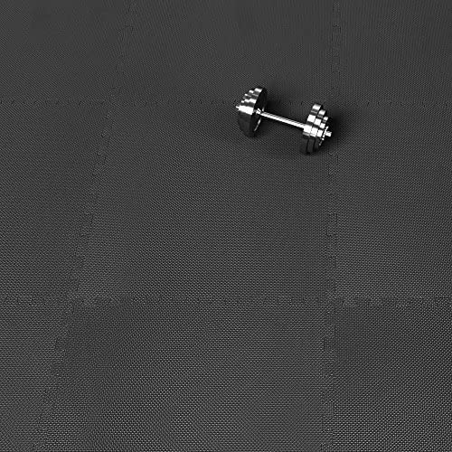 Deuba Alfombrilla puzzle Negra de casa de Espuma EVA 183,5 x 123,5 ...