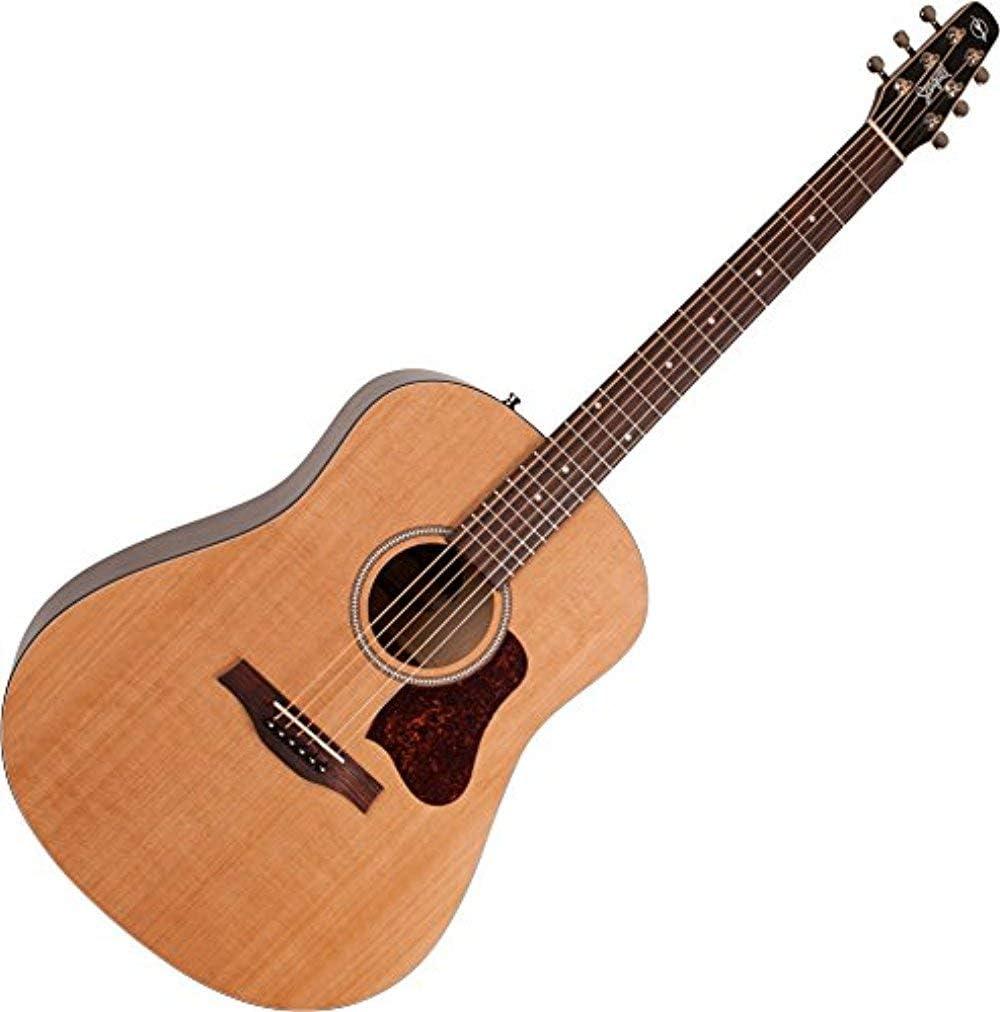 Seagull S6 Cedar Original Slim 6 cuerdas Guitarra Acústica, 21 ...