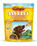 Zuke's Mini Naturals Dog Treats, Roasted Chicken Recipe, 6-Ounces