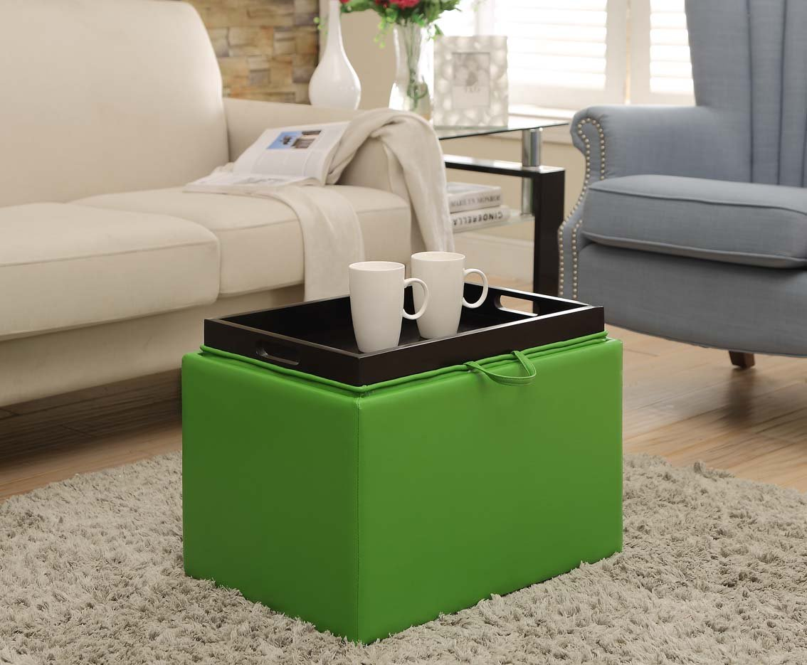 Storage ottoman/Coffee Table