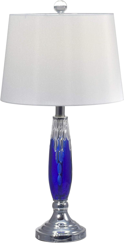 Dale Tiffany GT17089 Blue Glacier Table Lamp, 25.5