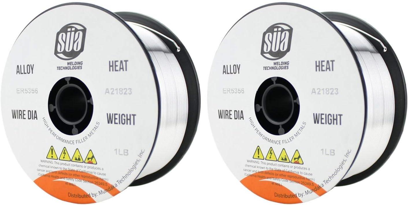 4 SPOOLS MIG Aluminum Welding Wire 1 Lb x 0.030 ER5356/