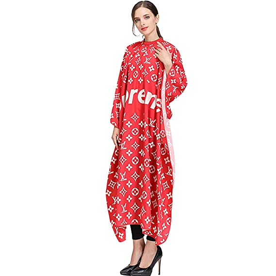 Amazon.com: RTCAPE 2019 New Adult Salon Barbers Printing Hairdressing Capes and Gowns Clothes Adjustable Hairdresser Tool Apron,Reds: Sports & Outdoors