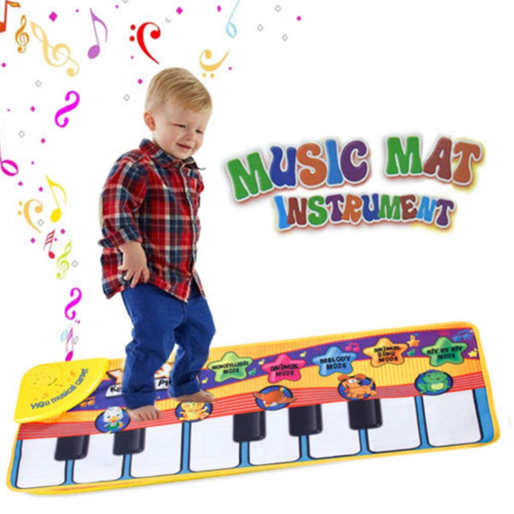 Aoile Kids Baby Musical Piano Play Mat Development Educational Soft Toys Piano Blanket by Aoile (Image #2)
