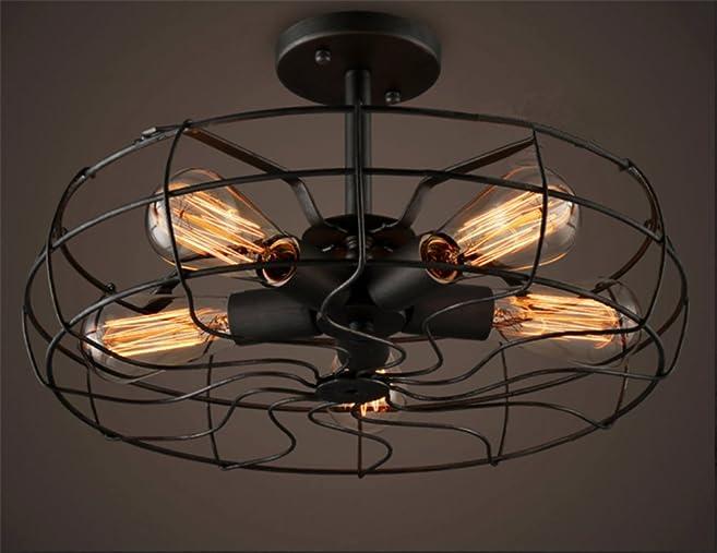 Retro Industrie Design Deckenleuchten Im Loft Style Esszimmer Vintage Retro  Hängeleuchte Lampe Wohnzimmer Mode Kreative
