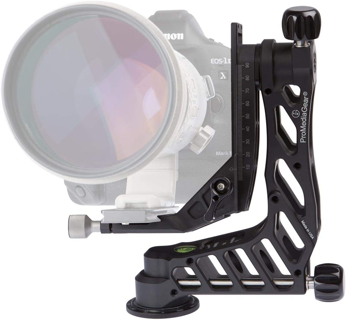 GKJr. Katana Junior Telephoto Lens Gimbal Head for Telephoto Lenses Wildlife Sports Photography