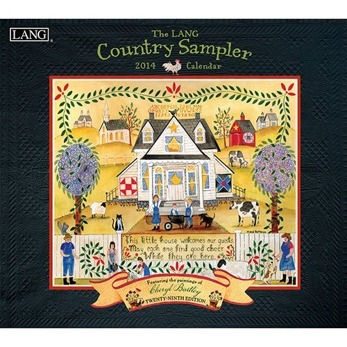 2014 The LANG COUNTRY SAMPLER Wall Calendar -