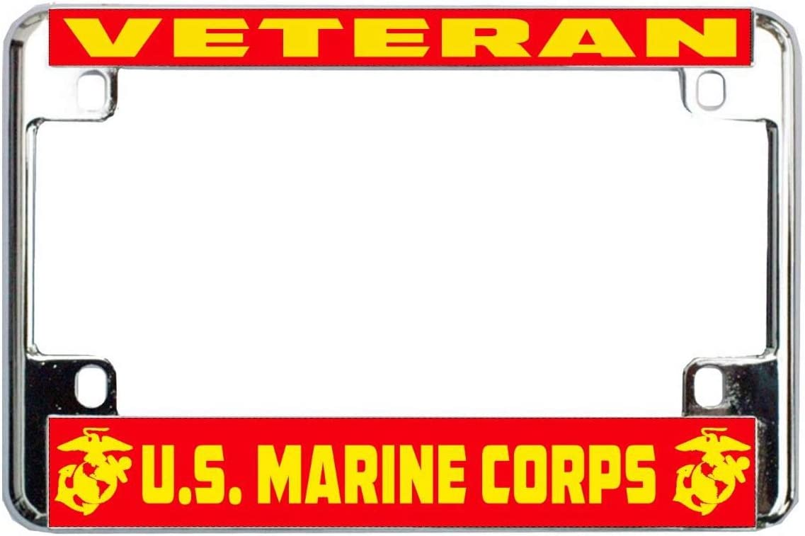 Marines U.S.M.C U.S License Plate Frame Tag Holder