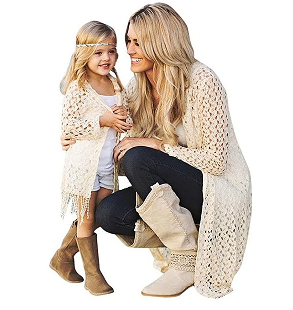 3c023ec7e5a Amazon.com  Mother Daughter Outfits Parent-Child Outfits Family Matching  Clothes Sets  Clothing