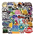 Stickers For Water Bottles Big 53 Pack Sanmatic Cute Funny Stickers For Teens Girls Adults Perfect For Waterbottle Laptop Phone Hydro Flask Travel Vinyl Stickers Waterproof