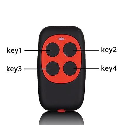 Xihada Universal Garage Door Opener Remote Fixed Code And Rolling