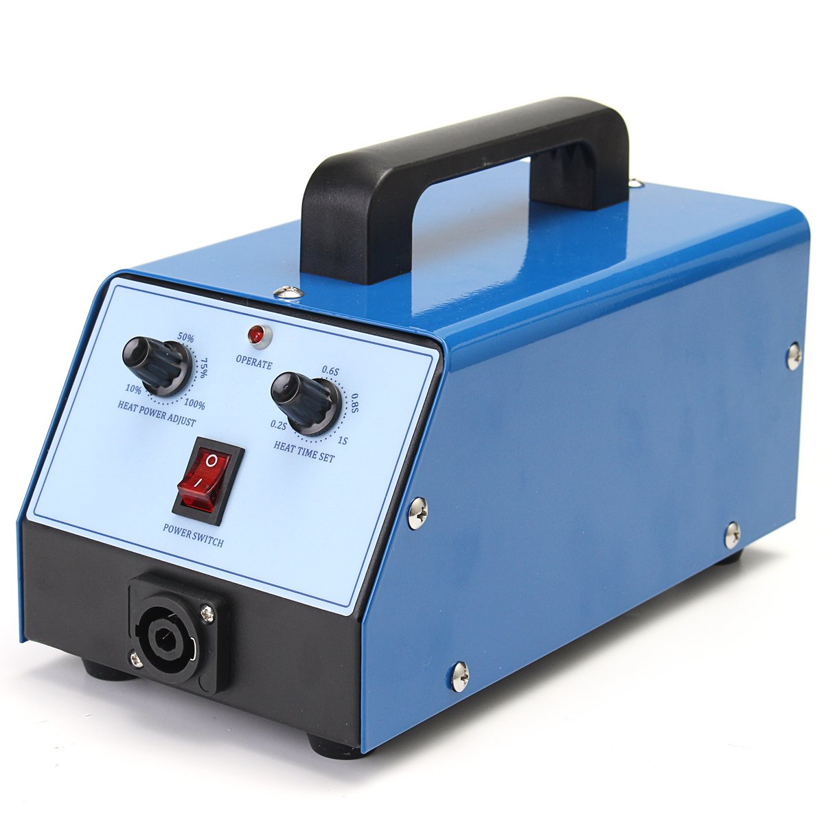 HITSAN 220V Blue Hot Box PDR Induction Heater for Removing Paintless Dent Repair Tool One Piece