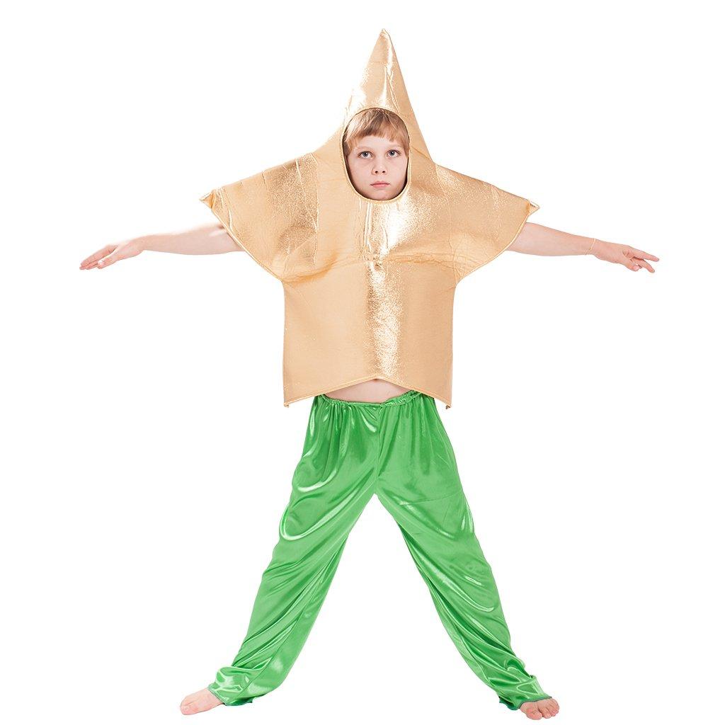 EraSpooky Kids Halloween Golden Star Costume