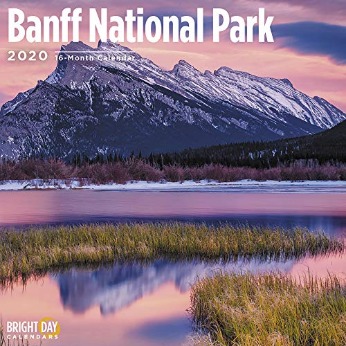 National Parks 2020 Banff National Park Wall Calendar by Bright Day Calendar 16 Month Wall Calendar 12 x 12 inches