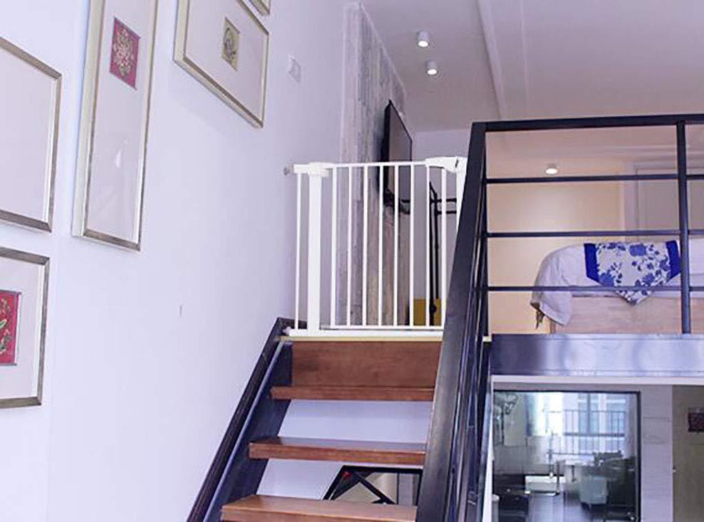 赤ちゃん ゲート 階段のドアのための子供の門、ペットドアが付いている安全の遊び場の赤ん坊のゲート、圧力台紙、75-142cmの幅のために適した (サイズ さいず : 75-82cm) 75-82cm  B07MVJDK9V