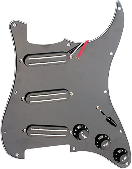 Single Coil Guitar Loaded Prewired Pickguard Tonabnehmer für Fender Guitar