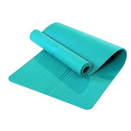 EETYRSD Yoga Mat - Inicio Entrenamientos - 8 mm de Espesor ...