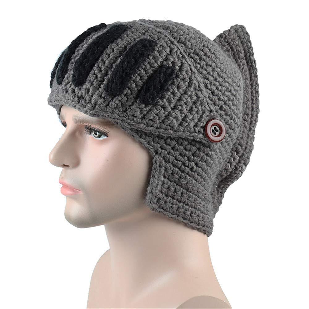SamMoSon Warm Winter Hat, Winter Mask Cap Unisex Warm Fashion Warm Winter Knit Beanie Hat