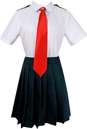 Womens My Hero Academia Boku no Hero Academia Cosplay Costume Izuku Ochako Tsuyu Blazer School Uniform