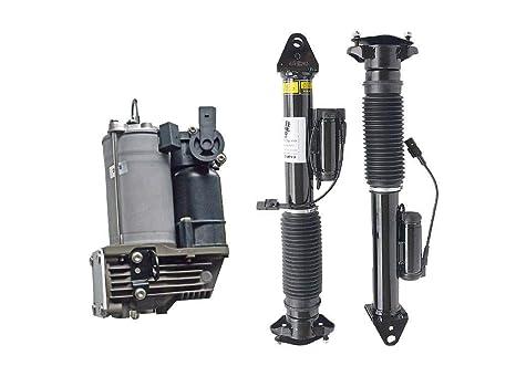 2 amortiguadores + 1 compresor de suspensión de aire 1663200104 1663260500.