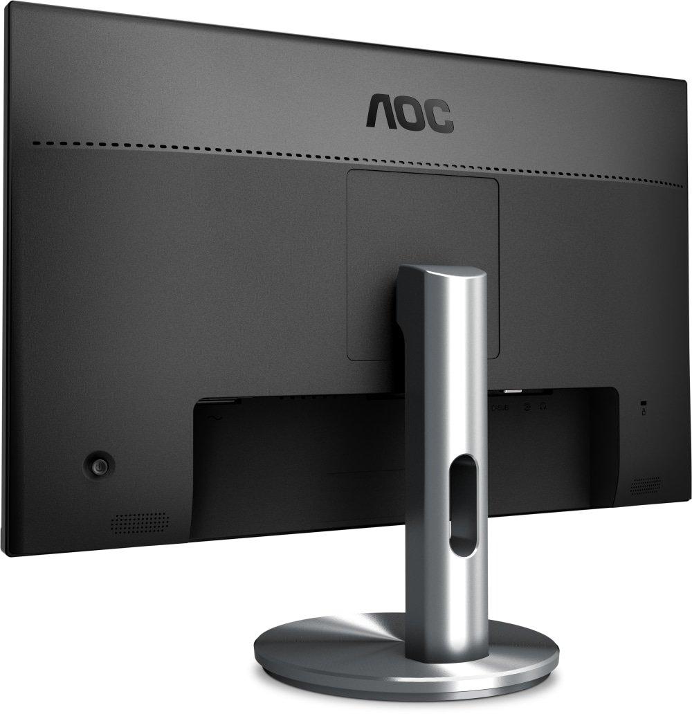resoluci/ón 1920 x 1080 pixels, tecnolog/ía WLED, HDMI, DisplayPort, 4 ms, USB 3.0, regulable en altura color negro AOC Monitores I2490PXQU//BT Monitor de 23.8