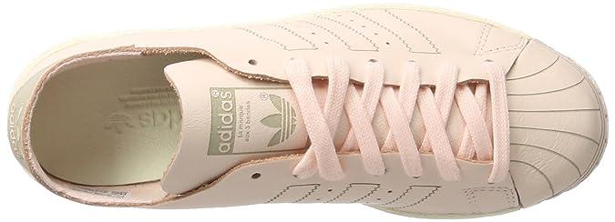 buy popular d5956 57b53 adidas Originals Superstar 80s Decon, Scarpe da Ginnastica Basse Donna, Rosa  Ice Pink off White, 36 2 3 EU  Amazon.it  Scarpe e borse