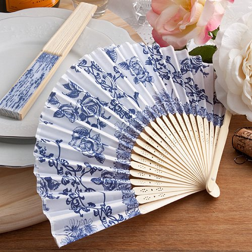 144 Elegant French Country Design Fan Favors by Fashioncraft