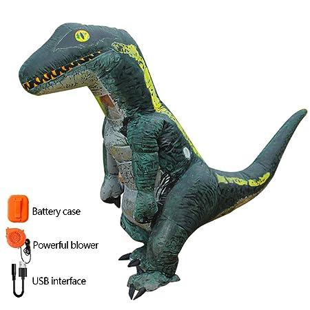 Zhilin424 - Disfraz de Dinosaurio Hinchable para Adulto y ...