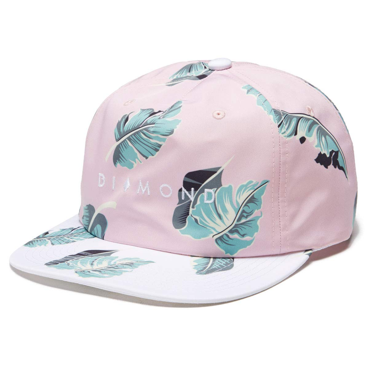 f586335d3 Amazon.com: Diamond Supply Co. Marquise 2tone Snapback Hat - Pink ...