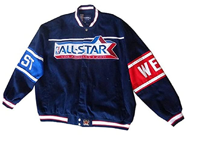 2cb099bc0af92 Men's Nationals Basketball All Stars Twill Jacket Clearance Sale at ...