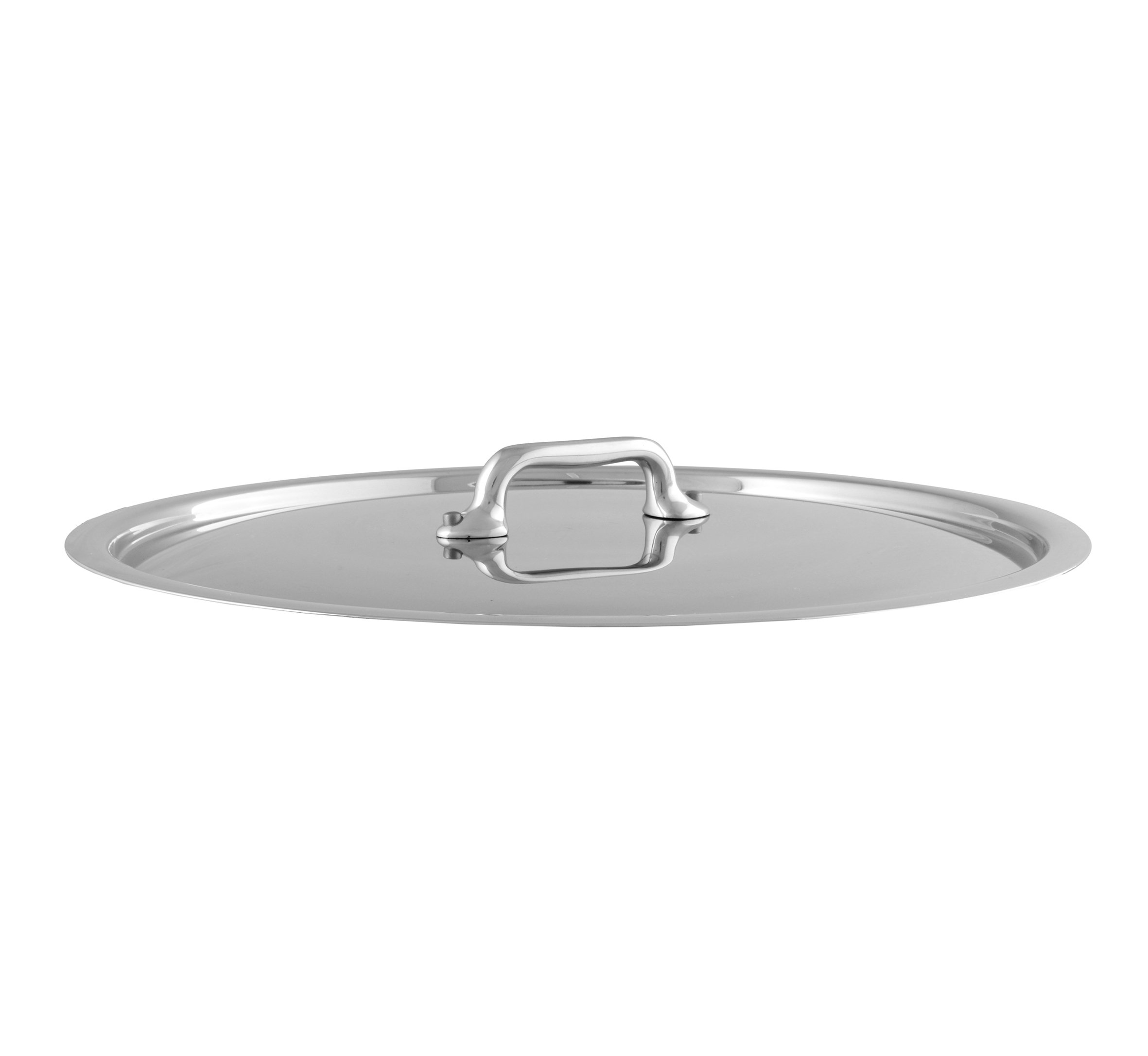 Mauviel Made In France M'Cook 5 Ply Stainless Steel 5218.28 11 Inch Lid, Cast Stainless Steel Handle by Mauviel (Image #1)